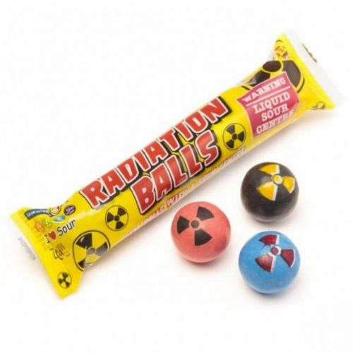 Zed Candy Radiation Balls 5 pack
